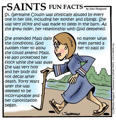 04B - Saint Germain Fun Facts